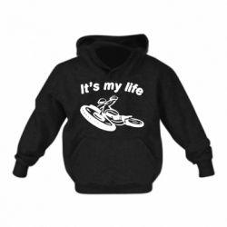Дитяча толстовка it's my moto life
