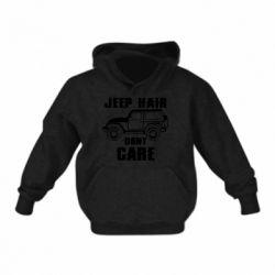 Дитяча толстовка Jeep hair don't care