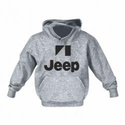 Детская толстовка Jeep Logo