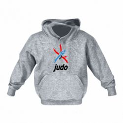 Дитяча толстовка Judo Logo