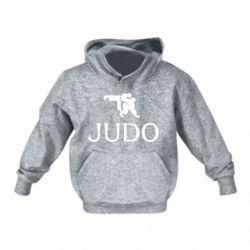 Детская толстовка Judo