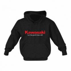 Дитяча толстовка Kawasaki. Let the good times roll.