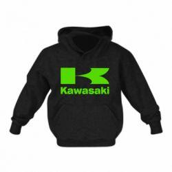 Детская толстовка на флисе Kawasaki
