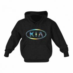 Детская толстовка KIA logo Голограмма