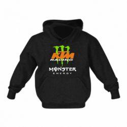 Детская толстовка KTM Monster Enegry