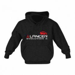 Детская толстовка Lancer Evolution X