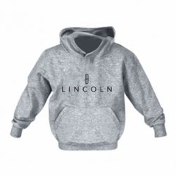 Детская толстовка на флисе Lincoln logo