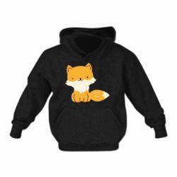 Детская толстовка Little red fox