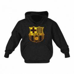 Дитяча толстовка Логотип Барселони