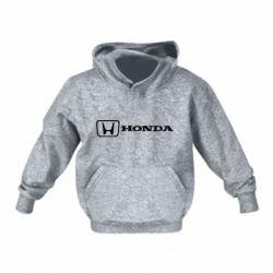 Детская толстовка Логотип Honda