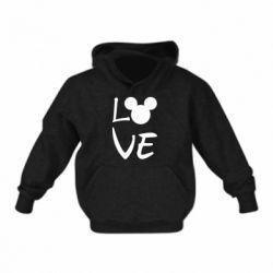 Дитяча толстовка Love Mickey Mouse (male)