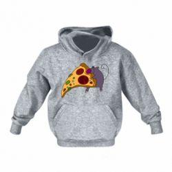 Детская толстовка Love Pizza 2