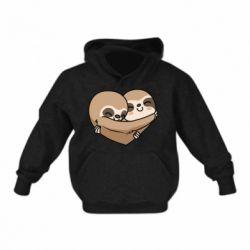 Дитяча толстовка Love sloths