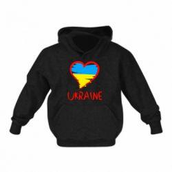 Дитяча толстовка Love Ukraine