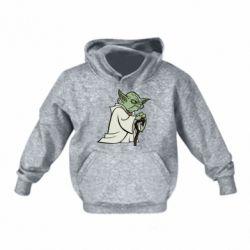 Детская толстовка Master Yoda