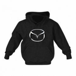Детская толстовка Mazda 3D Logo