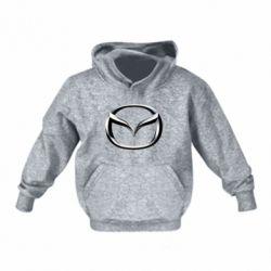 Детская толстовка Mazda 3D Small Logo