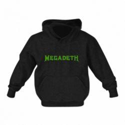 Детская толстовка Megadeth