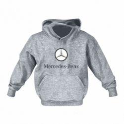 Детская толстовка Mercedes-Benz Logo