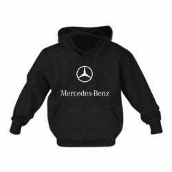 Дитяча толстовка Mercedes Benz logo