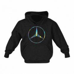 Дитяча толстовка Mercedes Лого Голограма