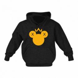 Дитяча толстовка Mickey with a crown