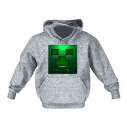 Детская толстовка Minecraft Face
