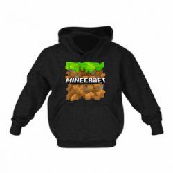 Дитяча толстовка Minecraft Main Logo