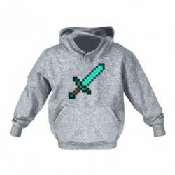 Дитяча толстовка Minecraft меч