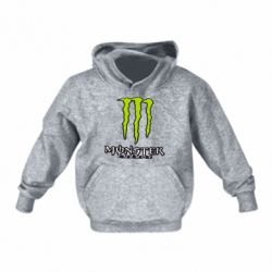 Дитяча толстовка на флісі Monster Energy Logo