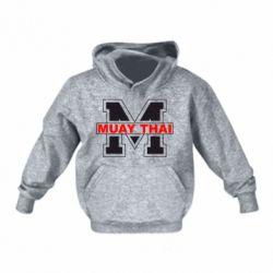 Детская толстовки Muay Thai Big M - FatLine