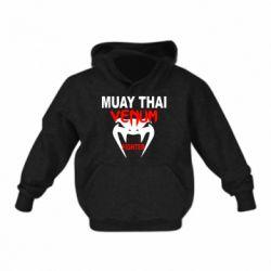 Детская толстовка на флисе Muay Thai Venum Fighter