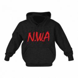 Детская толстовка N.W.A Logo