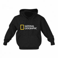 Детская толстовка National Geographic logo