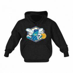 Детская толстовки New Orleans Hornets Logo - FatLine