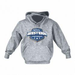 Детская толстовки NHL Western Conference - FatLine
