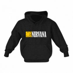 Детская толстовка Nirvana смайл