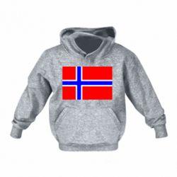 Дитяча толстовка Норвегія