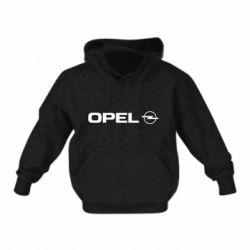 Детская толстовка Opel Logo