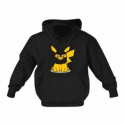 Дитяча толстовка Pikachu in balaclava