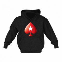 Дитяча толстовка Poker Stars 3D Logo