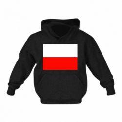 Детская толстовка Польша