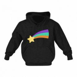 Дитяча толстовка Print Mabel star and rainbow