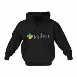 Дитяча толстовка Python