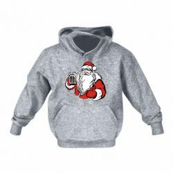 Детская толстовка Santa Claus with beer