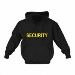 Детская толстовка Security