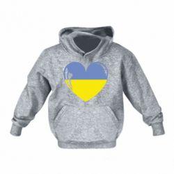 Дитяча толстовка Серце України