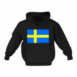 Дитяча толстовка Швеція