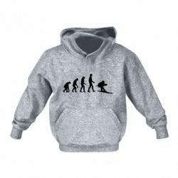 Детская толстовка Ski evolution