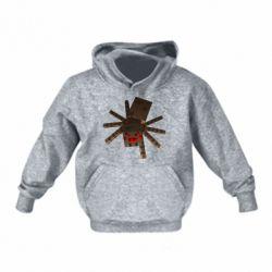 Детская толстовка Spider from Minecraft